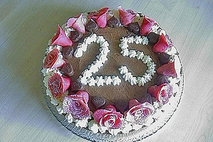 Milka - Herzen - Torte 21