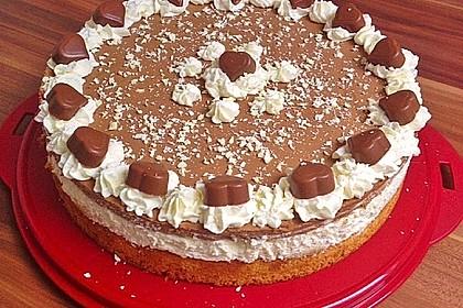 Milka - Herzen - Torte 20