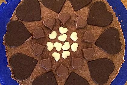 Milka - Herzen - Torte 7