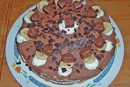 Milka - Herzen - Torte 35