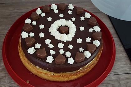 Milka - Herzen - Torte