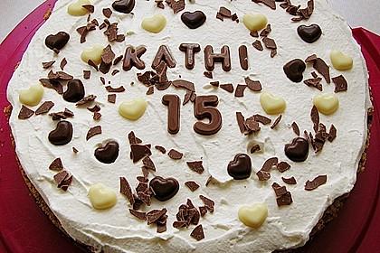 Milka - Herzen - Torte 34