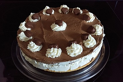 Milka - Herzen - Torte 24