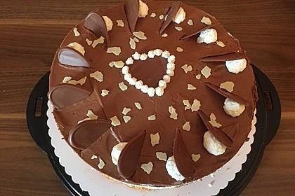 Milka - Herzen - Torte 32