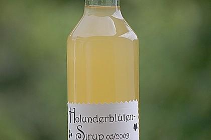 Holunderblüten - Sirup 1