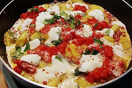 Kartoffeln mit Mozzarella 2