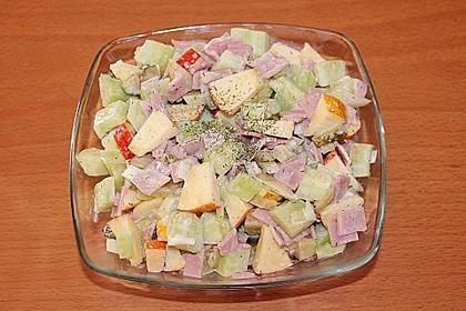 Gurkensalat mit Apfel 6