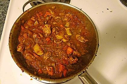 Daniels höllisches Chicken - Curry Vindaloo 4