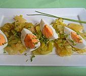 Lauch - Ananas - Salat (Bild)