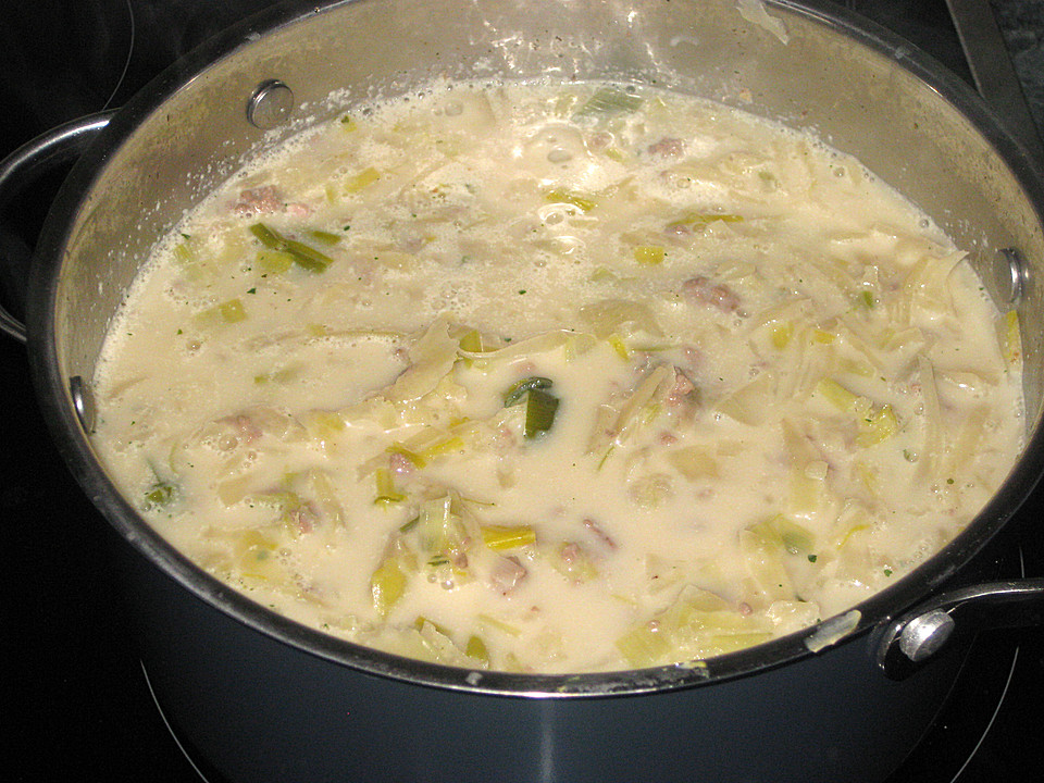 Hackfleisch - Lauch - Suppe von -janali- | Chefkoch.de