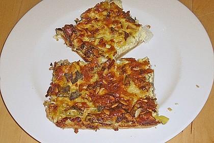 Käse - Quiche mit Kräutern 1