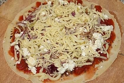 Dinkel - Pizzateig 4