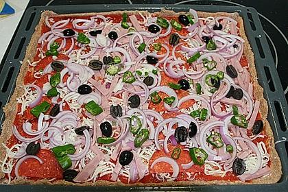 Dinkel - Pizzateig 1