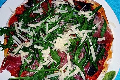 Dinkel - Pizzateig