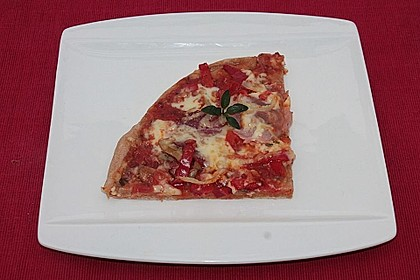Dinkel - Pizzateig 6