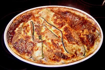 Zucchini - Pilz - Gratin