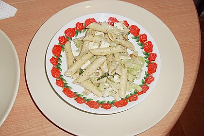 Griechischer Pasta - Salat 1