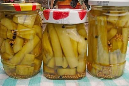 Pikante Honig - Senfgurken