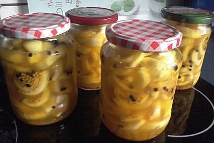 Pikante Honig - Senfgurken 1