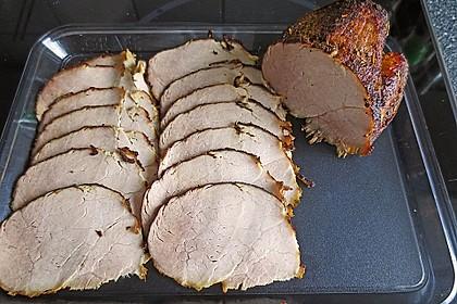 Kräuteriger Schweinebraten  für Aufschnitt 6