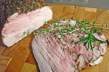 Kräuteriger Schweinebraten  für Aufschnitt 1