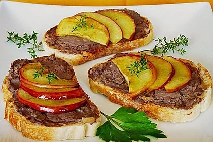 Geflügelleber - Apfel - Paté