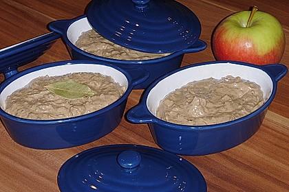 Geflügelleber - Apfel - Paté 5