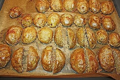 Sesamkartoffeln aus dem Ofen 12