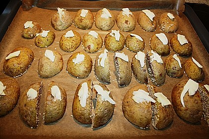Sesamkartoffeln aus dem Ofen 11