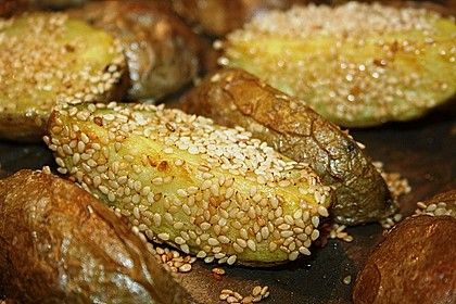 Sesamkartoffeln aus dem Ofen 4