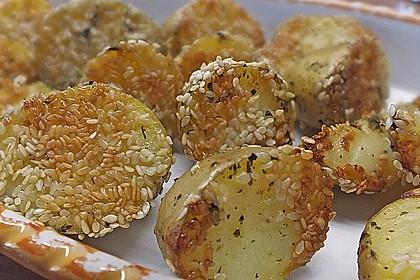 Sesamkartoffeln aus dem Ofen 1