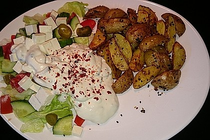 Sesamkartoffeln aus dem Ofen 8
