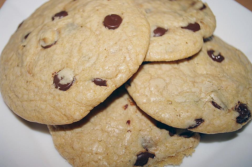 american chocolate chip cookies rezept mit bild. Black Bedroom Furniture Sets. Home Design Ideas