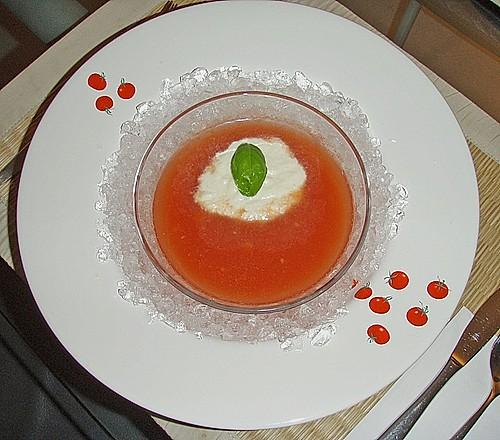 geeiste tomatensuppe rezept mit bild von breisgauer. Black Bedroom Furniture Sets. Home Design Ideas