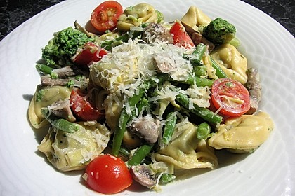 Vegetarische Tortellini - Pfanne 13