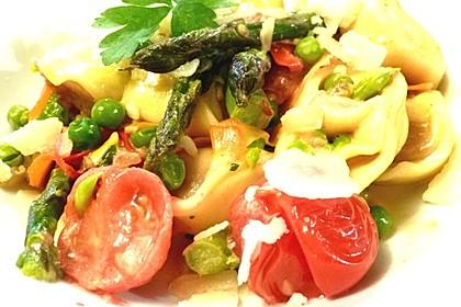Vegetarische Tortellini - Pfanne 11