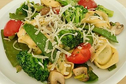 Vegetarische Tortellini - Pfanne 8