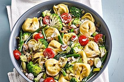 Vegetarische Tortellini - Pfanne 1