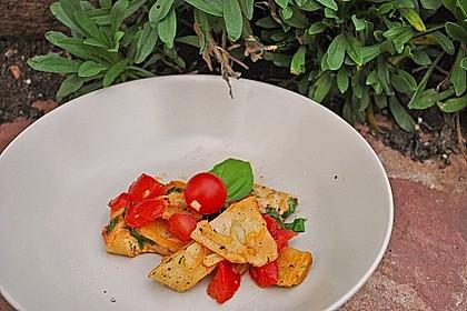 Vegetarische Tortellini - Pfanne 22