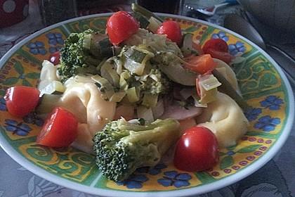 Vegetarische Tortellini - Pfanne 21