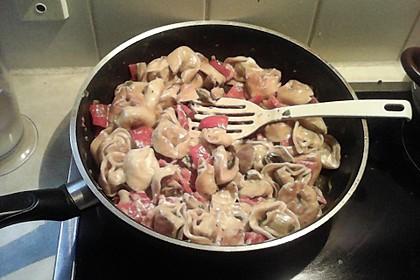 Vegetarische Tortellini - Pfanne 25