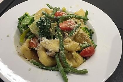 Vegetarische Tortellini - Pfanne 35