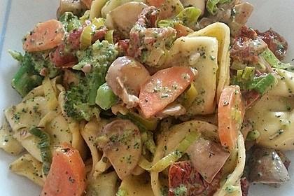 Vegetarische Tortellini - Pfanne 9