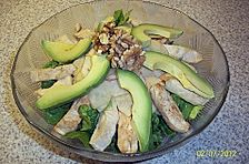 Avocado - Hähnchen Salat