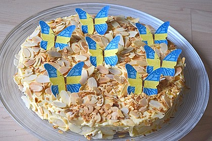 Schwedische Mandeltorte 13