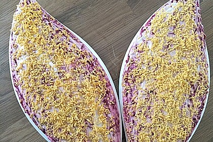 Russischer Schichtsalat 'Hering im Pelzmantel' 16