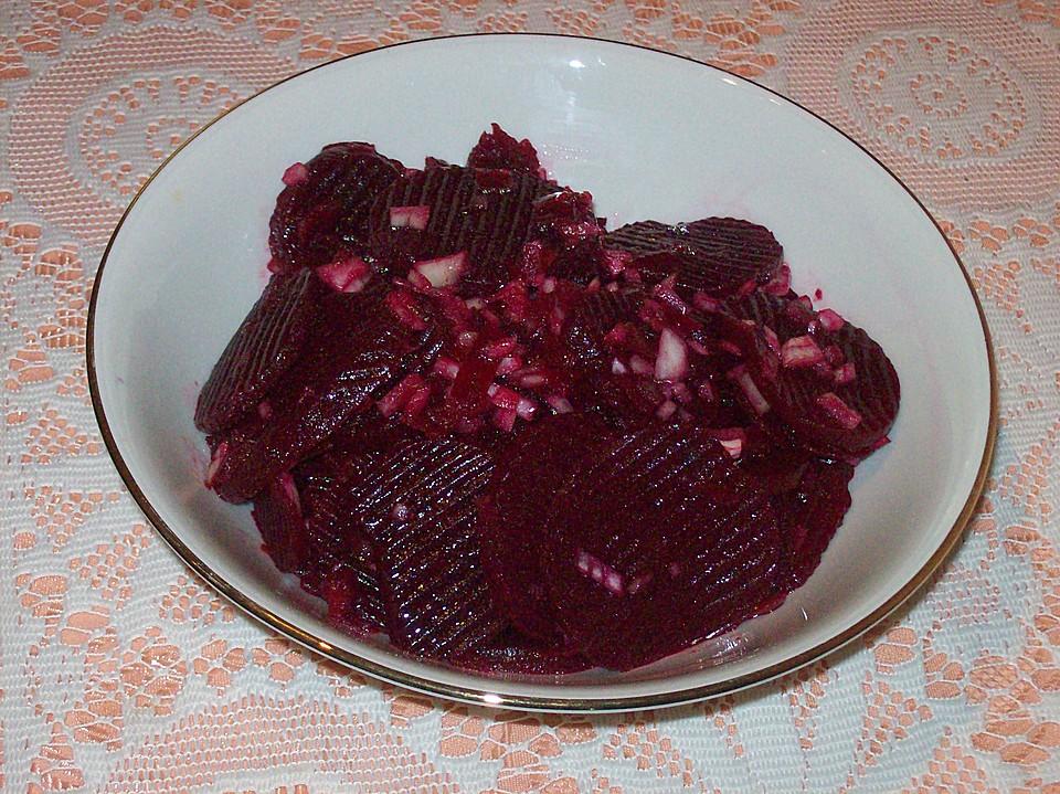 rote bete salat rezept mit bild von trollm dchen. Black Bedroom Furniture Sets. Home Design Ideas