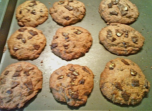 schokoladen cookies rezept mit bild von shanai. Black Bedroom Furniture Sets. Home Design Ideas