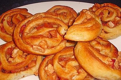 Apfel - Schnecken 1