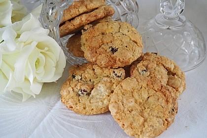 Urmelis weiße Schokolade - Cranberry - Haferflocken - Cookies 3